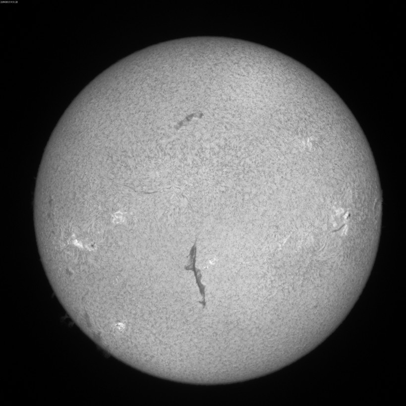 2015 Sept. 23 Sun - 6th day of a huge filament