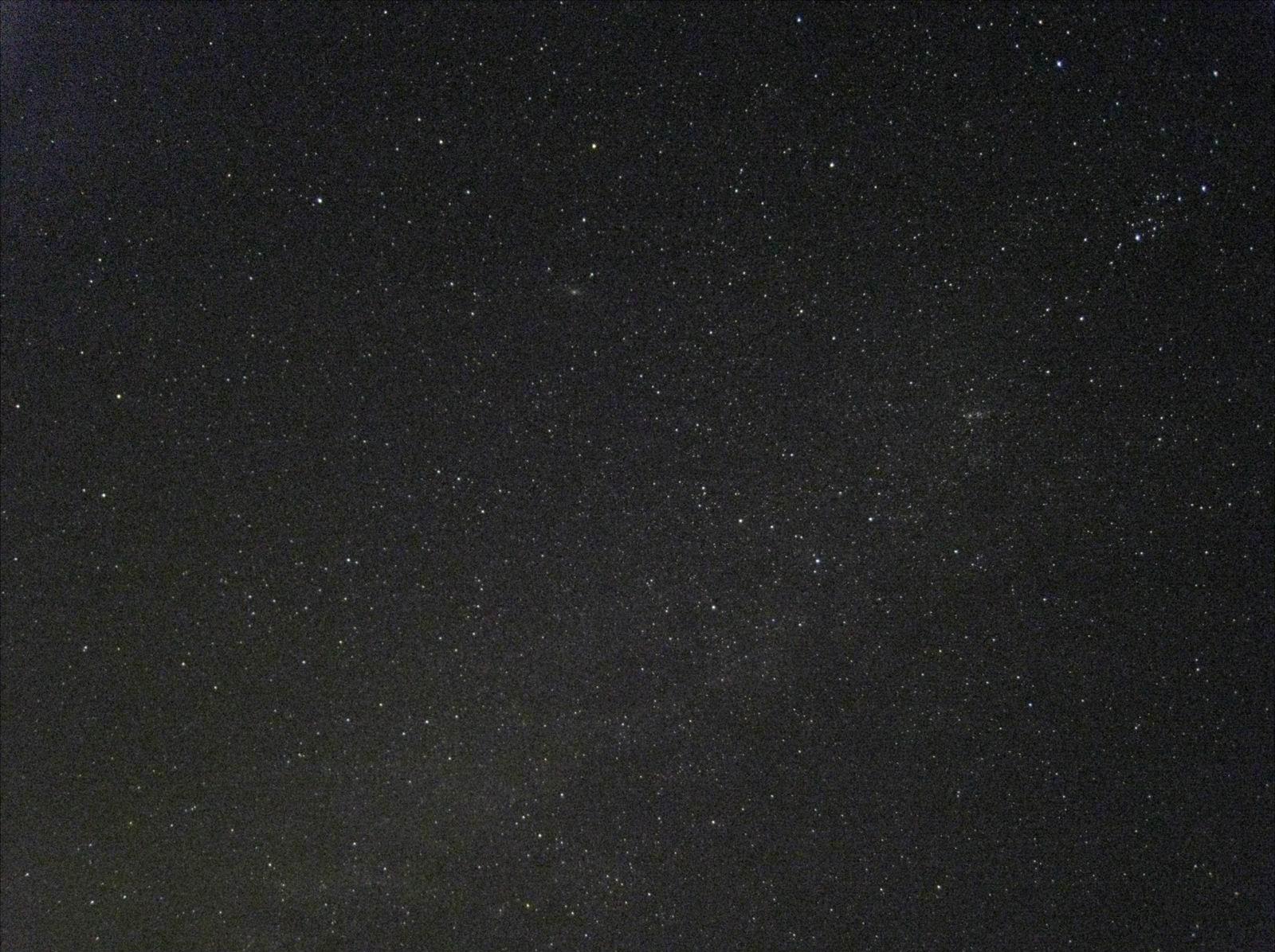 DC 仔眼裏的冬季銀河@ 陰那山