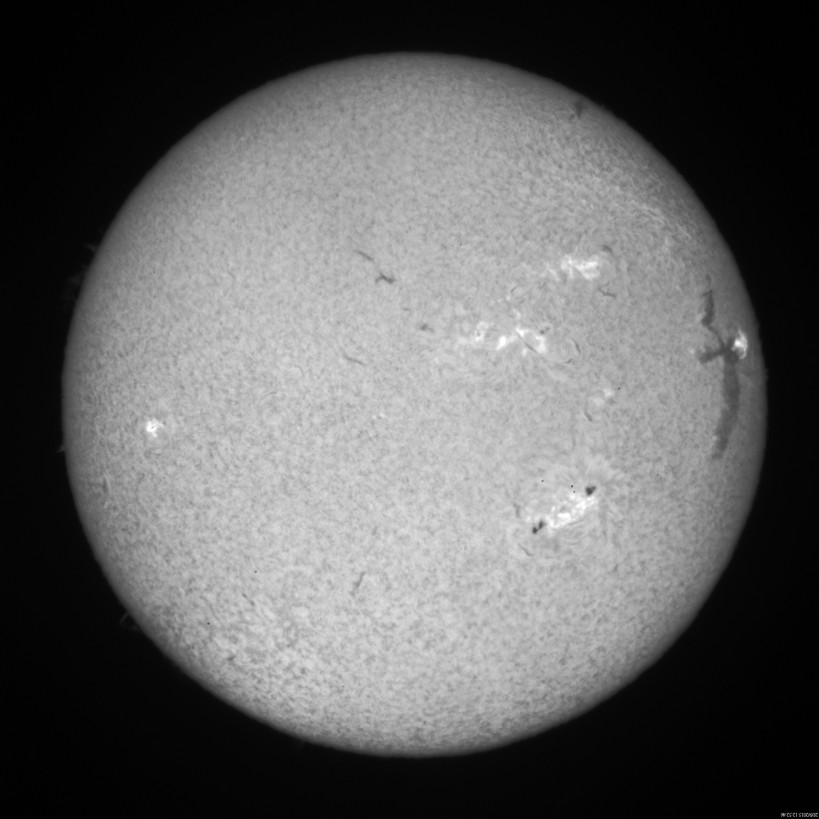 2015 Sept. 28 Sun -11th day of a huge filament