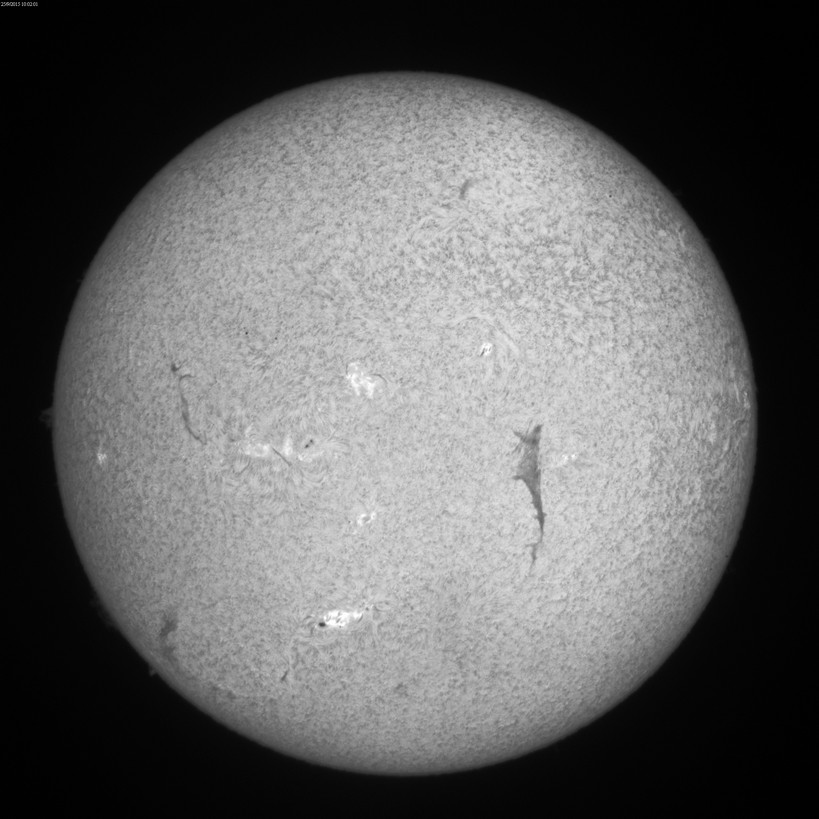 2015 Sept. 25 Sun -8th day of a huge filament