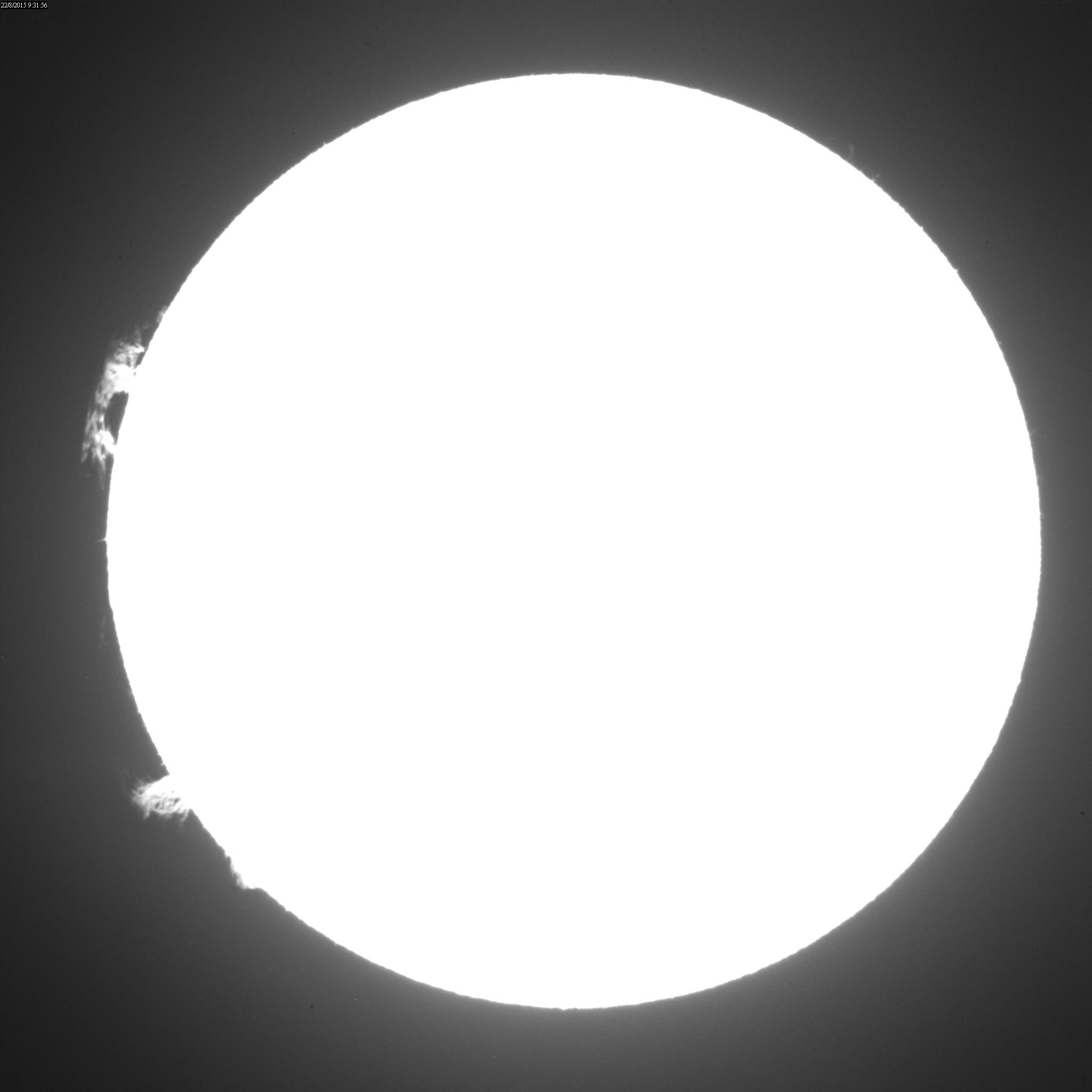 2015 August 22 Sun - AR12403