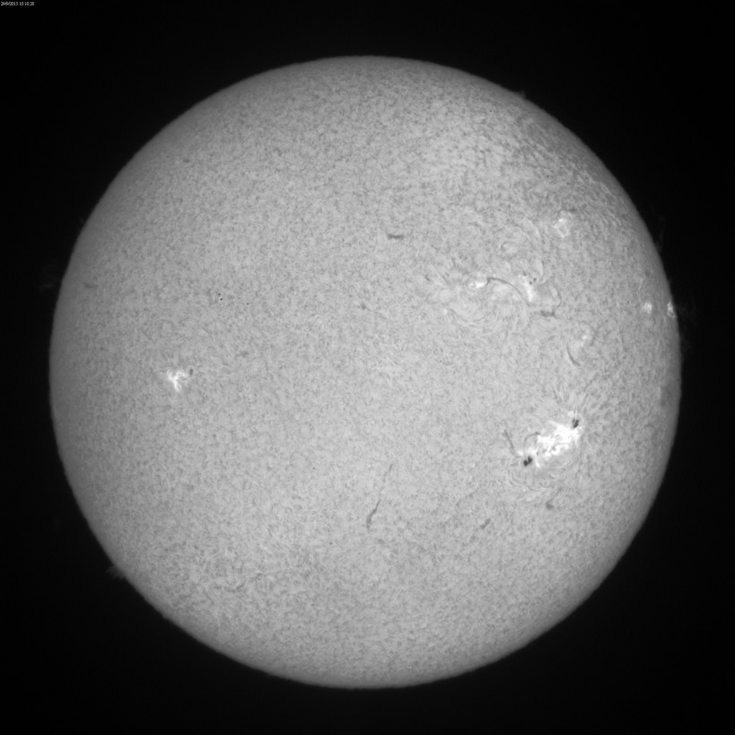 2015 Sept. 29 Sun -12th day of a huge filament/prominence