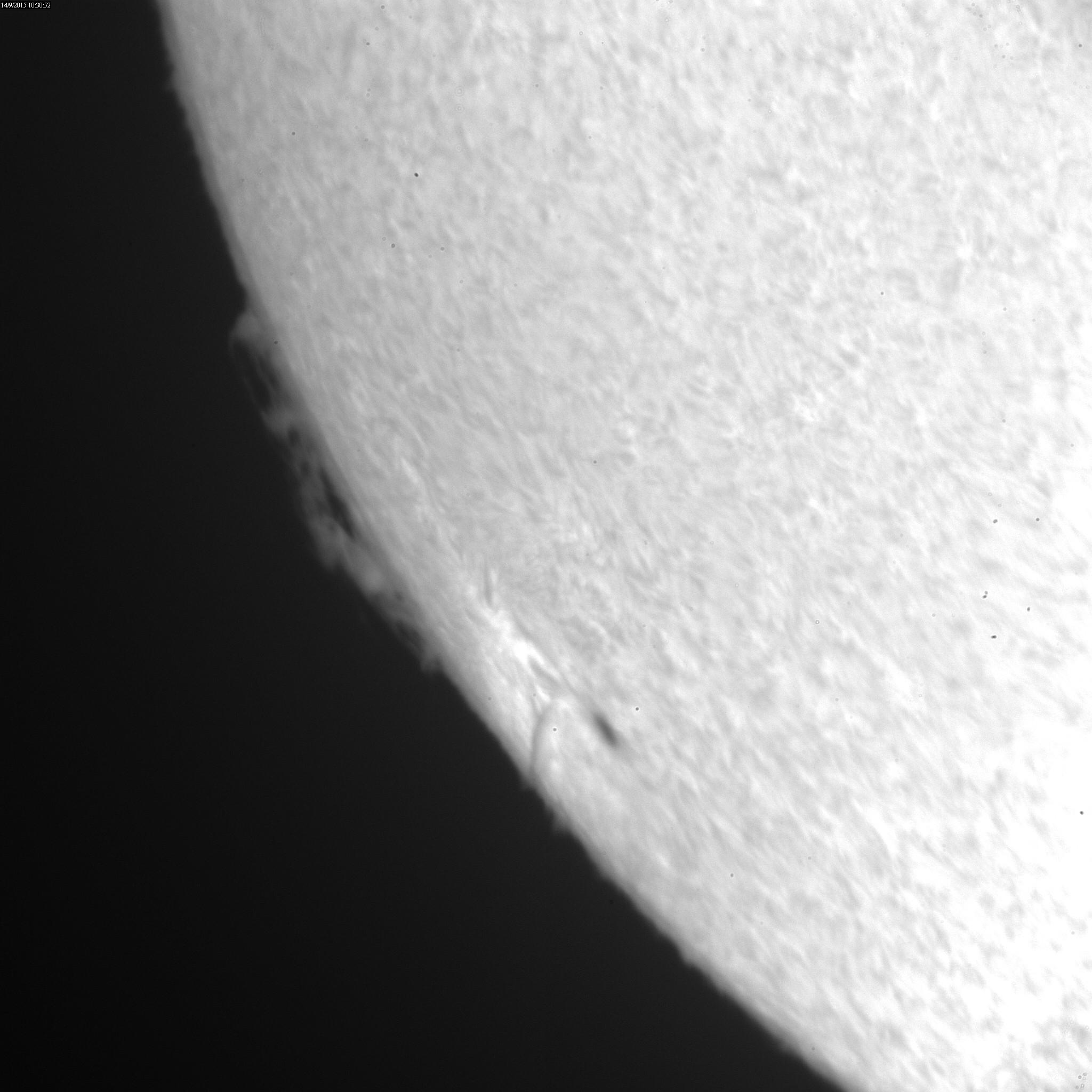 2015 September 14 Sun - AR12418