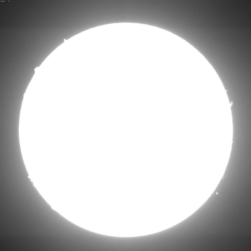 2016 June 24 Sun - mass ejection into the corona
