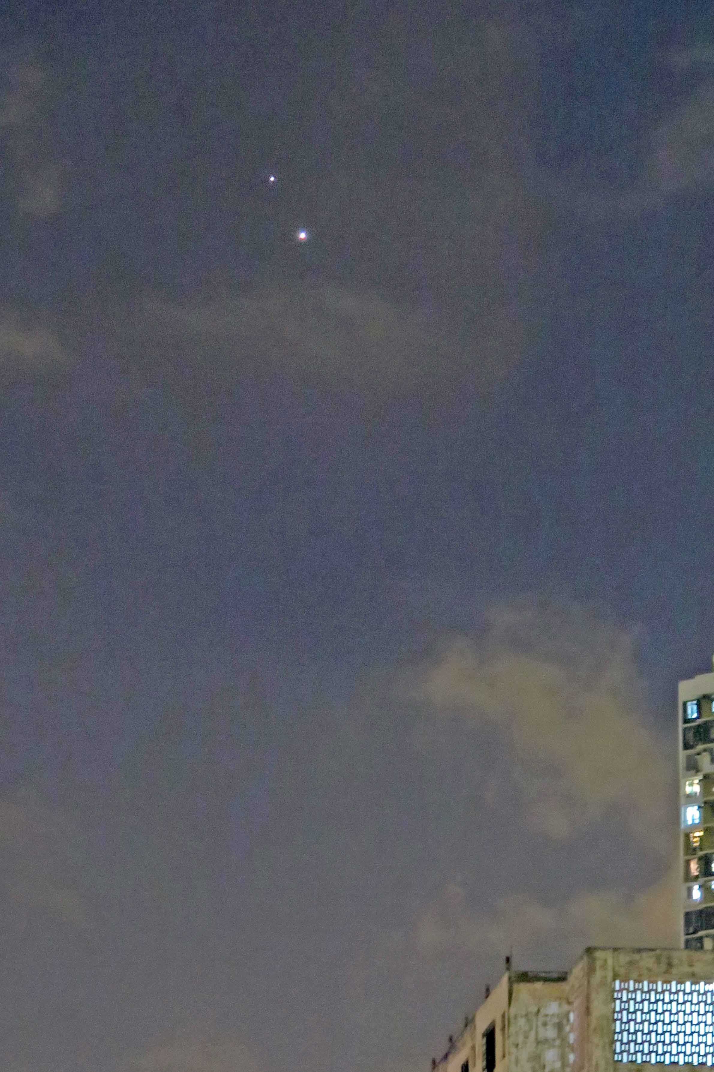金星與木星 (29/6/2015)